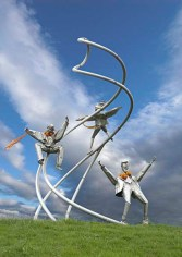 Blackpool stainless-sculpture